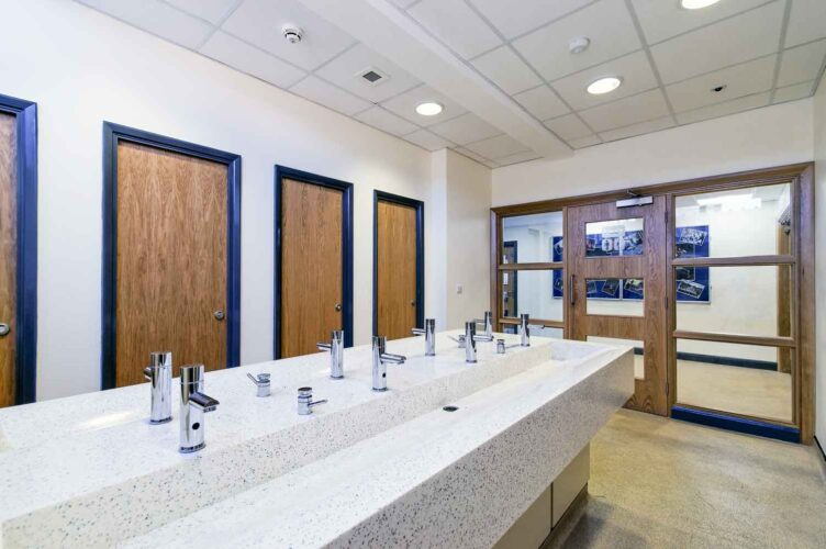 Wash troughs – helping to improve hygiene in the washroom