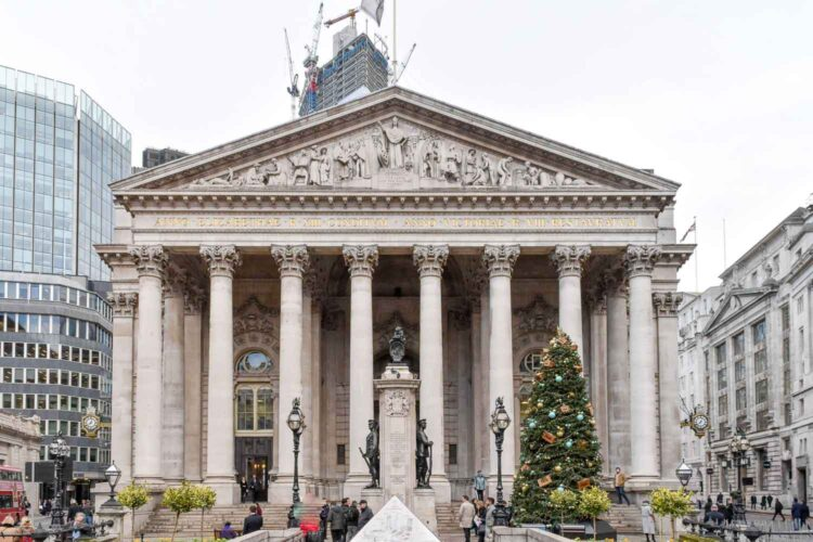 The Royal Exchange, London